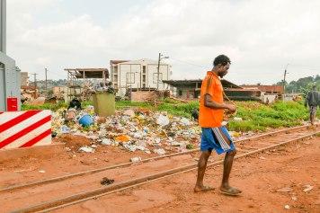 Die Abfallentsorgung ist ein ungelöstes Problem in der Millionenmetropole.