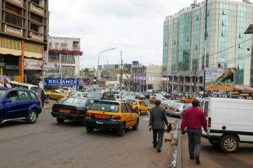 Im Stadtzentrum von Yaoundé.