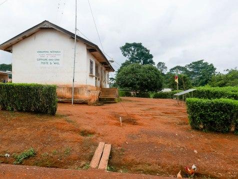 Die Gendarmerie befindet sich im Gebäude der ehemaligen Krankenstation.