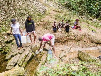 Von dieser Quelle wurde das Trinkwasser geschöpft.